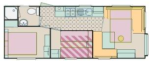 6 Berth Floorplan